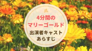 4分間のマリーゴールドドラマ出演者キャスト一覧とあらすじ!福士蒼汰×菜々緒